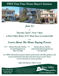 River Valley Hosts a Free First Time Home Buyers Seminar