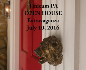 Open House Extravaganza in Tinicum, PA – July 10th from 12 to 3PM